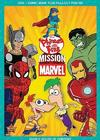 Phineas And Ferb: Mission Marvel  (DVD) Cover