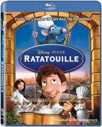 Ratatouille (Blu-ray) - Cover