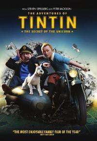 Adventures Of Tintin - Secret Of The Unicorn (DVD) - Cover