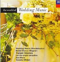 Various Artists - World Of Wedding Music / Wedding March (CD) - Cover