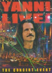 Yanni - Live (DVD) - Cover