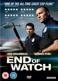 End Of Watch (DVD) - Cover
