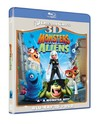 Monsters vs. Aliens (3D Blu-ray) Cover