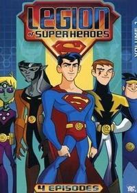 DC Universe - Legions Of Superheroes - Vol.1 (DVD) - Cover