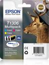 Epson Ink T1306 Multi-Pack C/M/Y Stag Stylus
