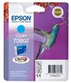 Epson Ink T0802 Cyan Hummingbird Stylus