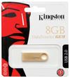Kingston DT Mini 2.0 8GB USB 2.0 DataTraveler GE9 - Gold Metal casing USB Flash Drive