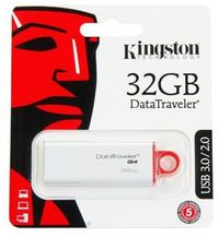Kingston Technology - DTI USB 3.0 32GB DataTraveler I G4 USB Flash Drive - Cover
