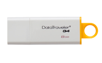 Kingston Technology - DTI USB 3.0 8GB DataTraveler I G4 USB Flash Drive - Cover