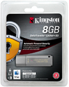 Kingston DT Locker+ 8GB DataTraveler G3 with ADS USB Flash Drive