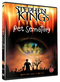 Pet Sematary (DVD) - Cover