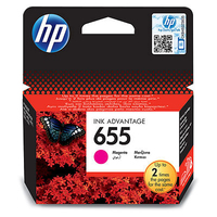 HP No 655 Magenta Ink Cartridge - Cover