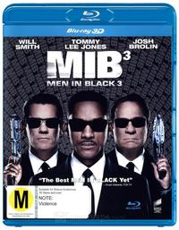 Men In Black 3 (Region A Blu-ray) - Cover