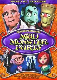 Mad Monster Party (Region 1 DVD) - Cover