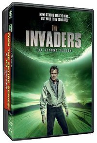 Invaders: Complete Series Pack (Region 1 DVD) - Cover