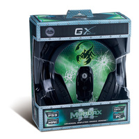 Genius GX Mordax Universal Amplified Gaming Headset and Mic - Cover