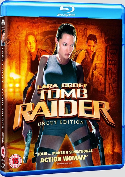 Lara Croft Tomb Raider Uncut Edition Blu Ray