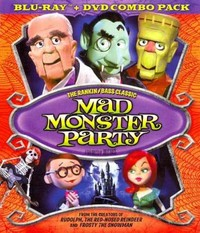 Mad Monster Party (Region A Blu-ray) - Cover