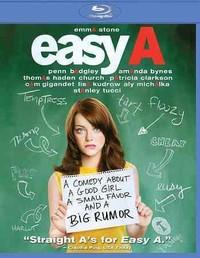 Easy A (Region A Blu-ray) - Cover