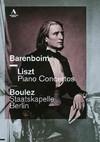 Liszt / Wagner / Boulez / Staatskapelle Berlin - Piano Concertos (Region 1 DVD)