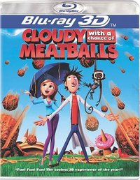 Cloudy With a Chance of Meatballs 3D (Region A Blu-ray) - Cover