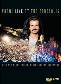 Yanni - Live At the Acropolis (Region 1 DVD) - Cover