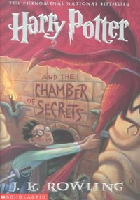 Harry Potter and the Chamber of Secrets - J. K. Rowling (Paperback) - Cover
