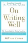 On Writing Well - William Knowlton Zinsser (Paperback)