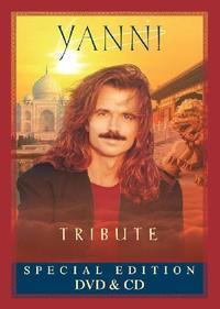 Yanni - Tribute - Special Edition (DVD + CD) - Cover