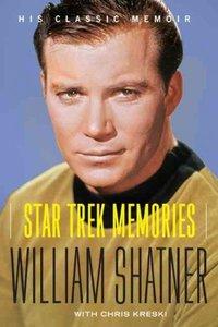 Star Trek Memories - William Shatner (Paperback) - Cover