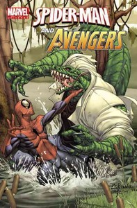 Marvel Universe Spider-man and the Avengers - J. M. Dematteis (Paperback) - Cover