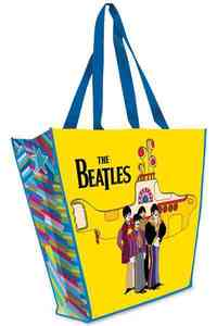 "The Beatles ""Yellow Submarine"" Large Recycled Shopper Tote - LLC Vandor (Accessory) - Cover"