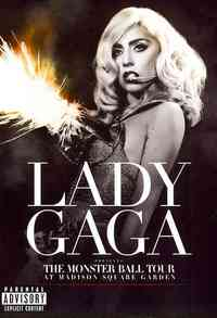 Lady Gaga - Monster Ball Tour At Madison Square Garden (Region 1 DVD) - Cover