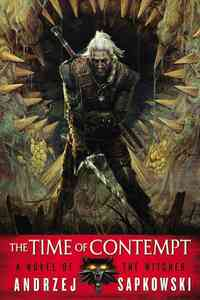 The Time of Contempt - Andrzej Sapkowski (Paperback) - Cover