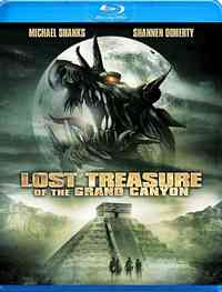 Lost Treasures of the Grand Canyon (Region A Blu-ray) - Cover