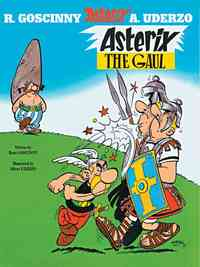 Asterix the Gaul - Rene Goscinny (Paperback) - Cover