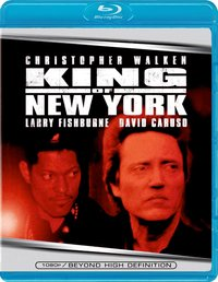 King Of New York (Blu-Ray) - Cover