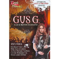 Gus G - Lead & Rhythm Techniques (Region 1 DVD)