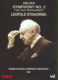 Nielsen / Dnso / Stokowski - Stokowski Conducts Nielsen (Region 1 DVD) - Cover