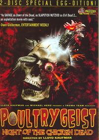 Poultrygeist: Night of the Chicken Dead (Region 1 DVD) - Cover