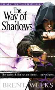 The Way of Shadows - Brent Weeks (Paperback) - Cover