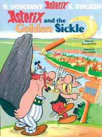 Asterix and the Golden Sickle - Rene Goscinny (Paperback) - Cover