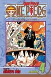 One Piece, Vol. 4 - Eiichiro Oda (Paperback)