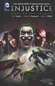 Injustice Gods Among Us Vol. 1 - Tom Taylor (Hardcover) - Cover