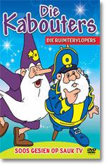 Die Kabouters - Die Ruimtervlopers (DVD) - Cover