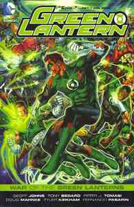 Green Lantern War of the Green Lanterns Tp - Geoff Johns (Paperback) - Cover