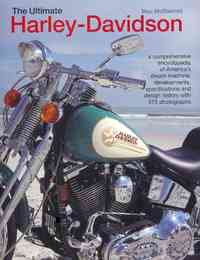 The Ultimate Harley-Davidson - Mac McDiarmid (Hardcover) - Cover