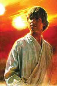A New Hope: The Life of Luke Skywalker - Ryder Windham (Hardcover) - Cover