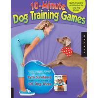 10-Minute Dog Training Games - Kyra Sundance (Paperback)