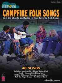 Campfire Folk Songs - Hal Leonard Publishing Corporation (Paperback) - Cover